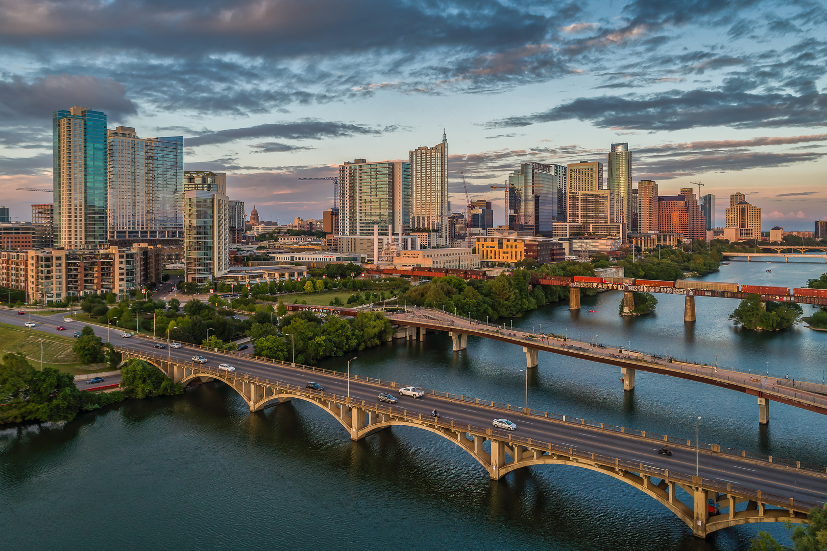 Austin, TX is reated one of the best places to live in the US.