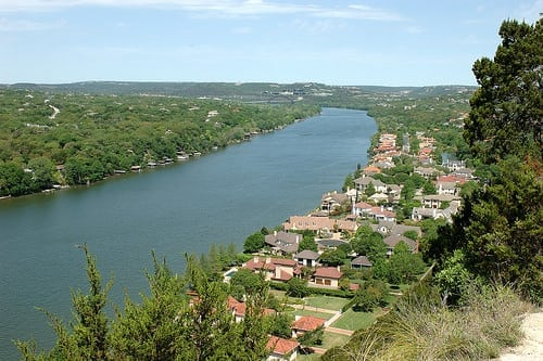 Mount Bonnell, perfect picnic spot in Austin, TX
